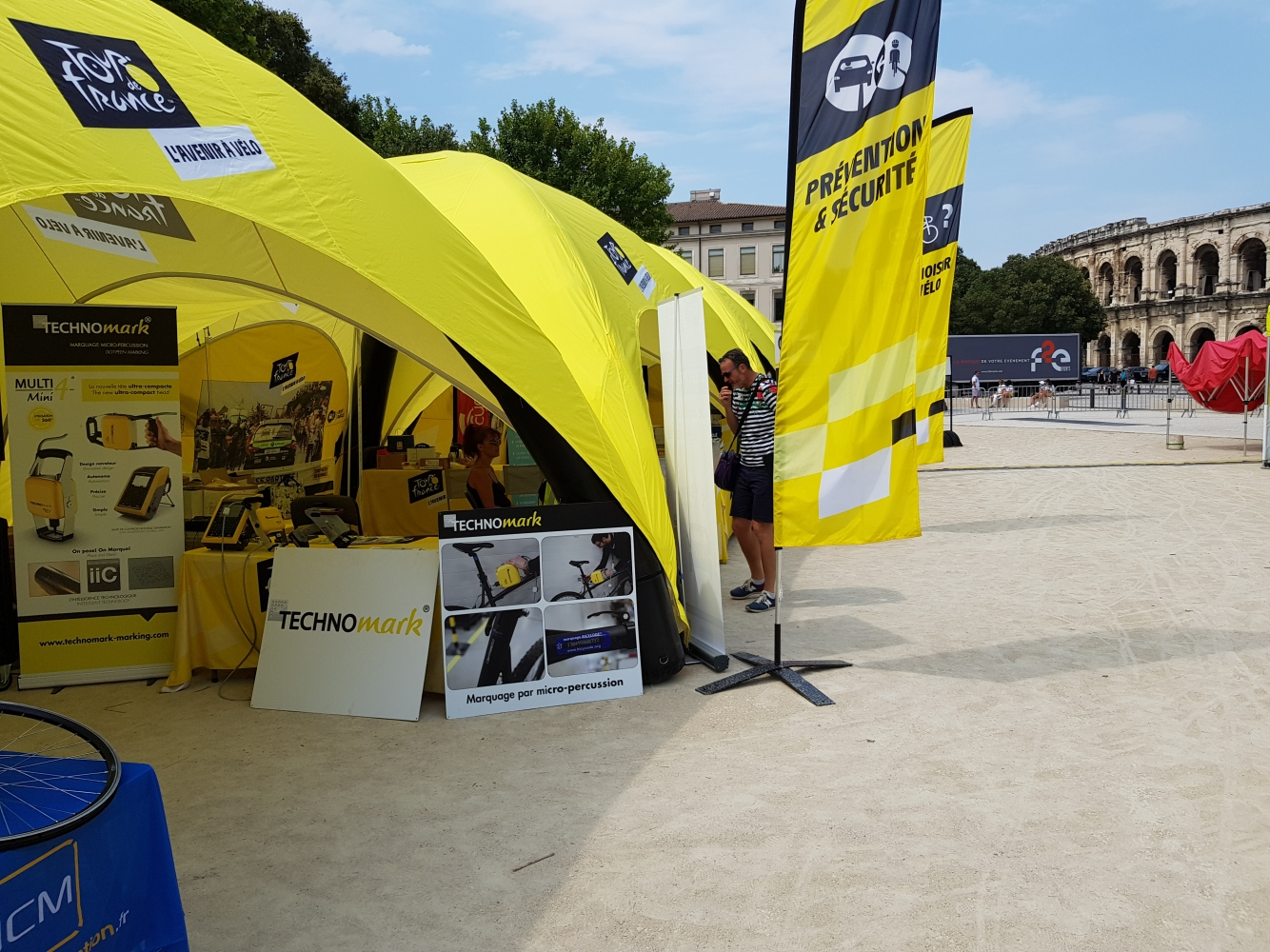 TECHNOMARK & les Fan Parks du TOUR DE FRANCE 2019