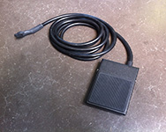 Cycle start foot pedal