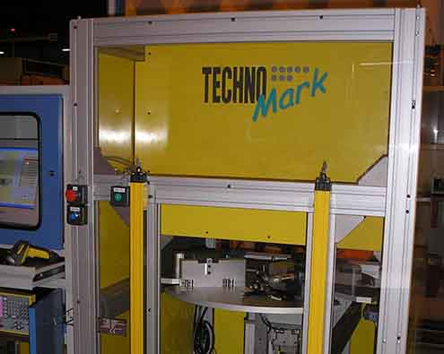 Technomark Marking system applications Marking on aircraft tubine baldes