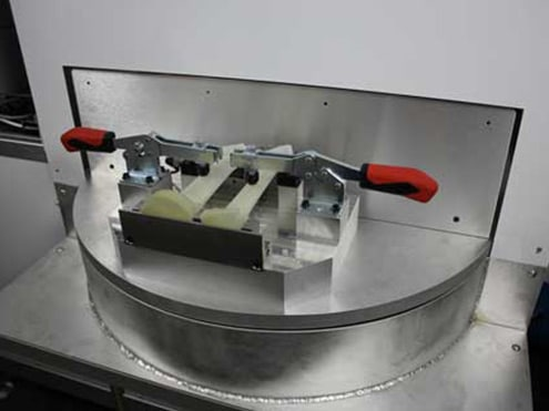 Solution Marquage sur aubes de réacteurs Technomark