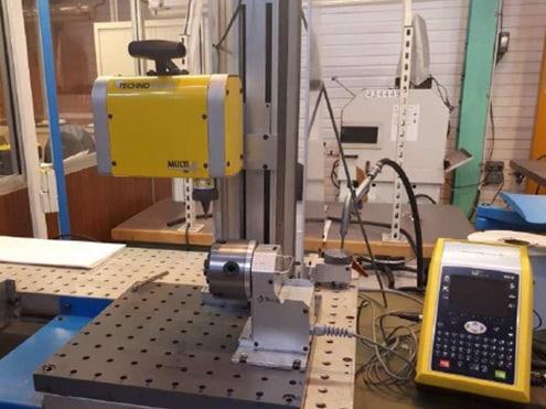 Solution Marking on aeronautical parts Technomark