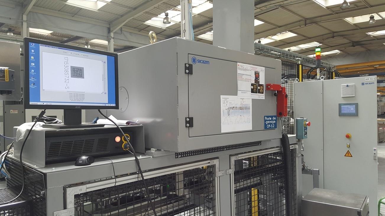 Solution Marquage laser sur aluminium Technomark