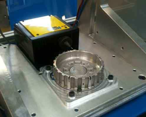 Solution Marking on automatic gearboxes Technomark