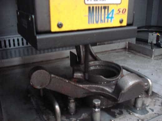 Solution Marking on car chassis Technomark