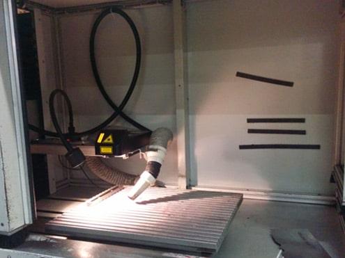 Solution Marking on steel Technomark