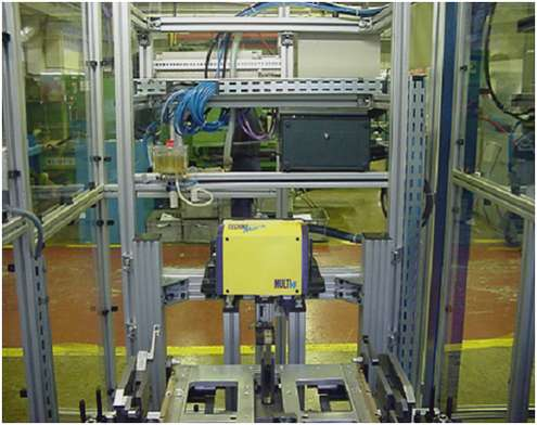Solution Marquage sur glissières de sièges pour automobiles Technomark