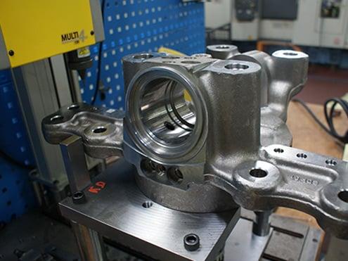 Solution Datamatrix marking on steel Technomark