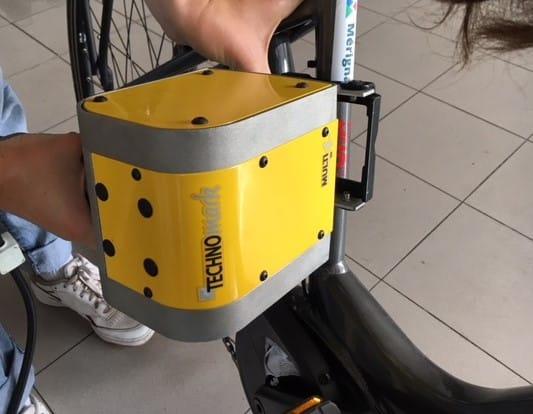 Solution Marquage de Bicycode sur vélos Technomark
