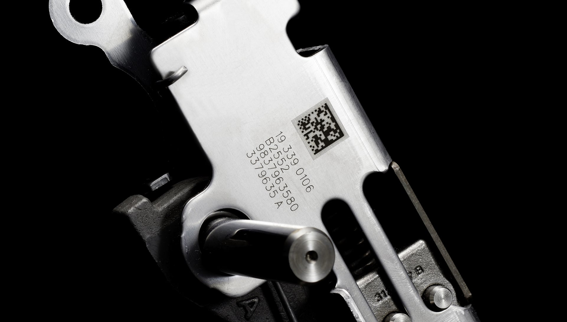 Marquage Datamatrix laser-pièce automobile