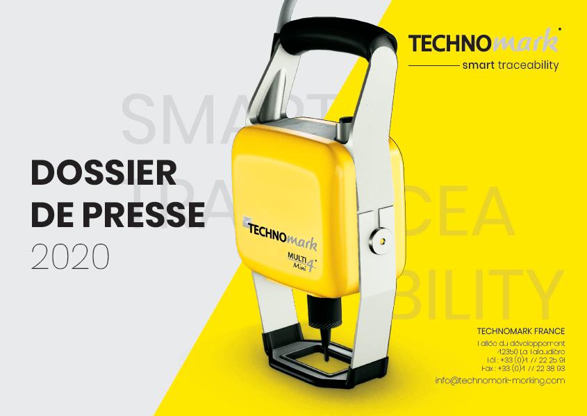 Couverture dossier de presse Technomark 2020