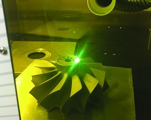 Solution Laser marking of Datamatrix code Technomark