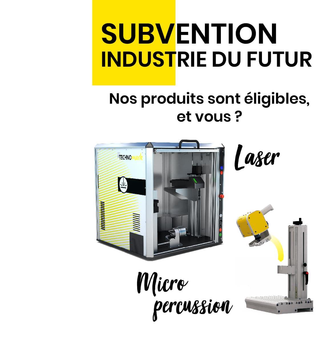 Subvention industrie du futur technomark