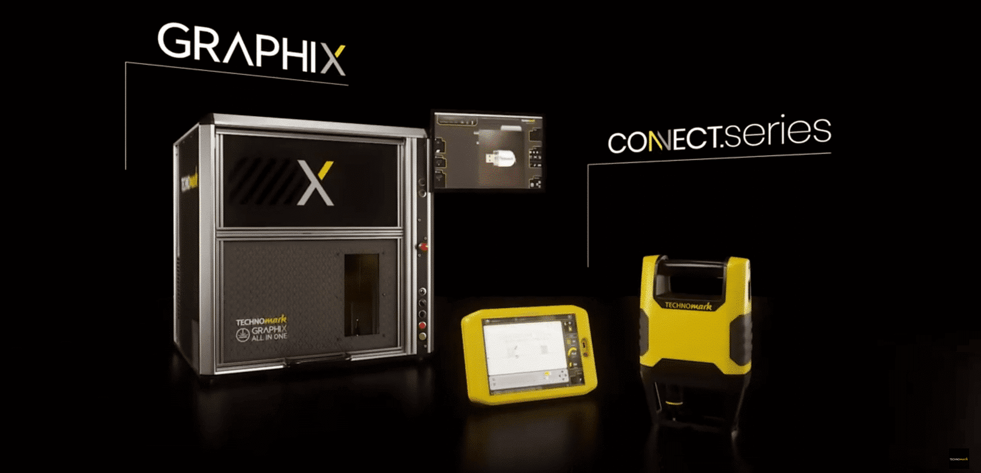 Graphix.series and Connect.series join the Technomark family! Technomark Marking