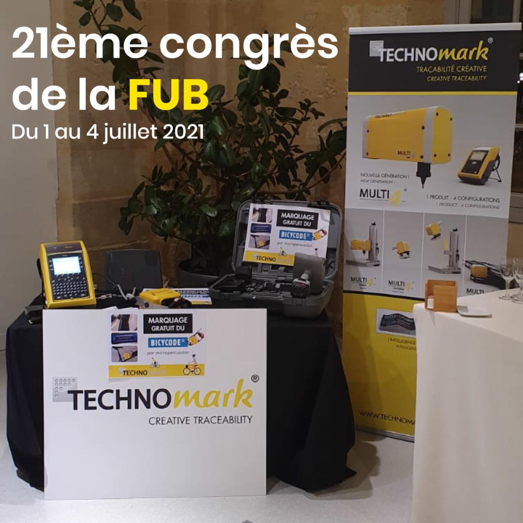 Stand Technomark Congrès FUB 2021